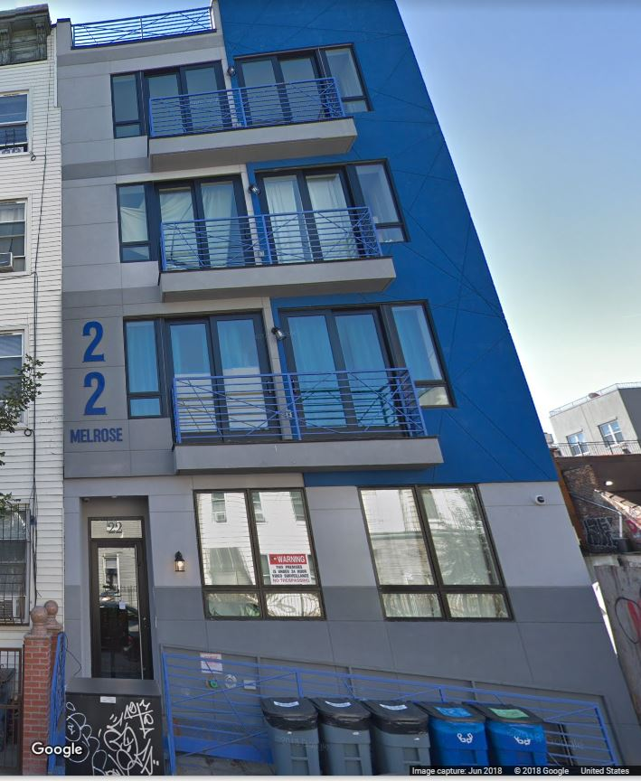 22 Melrose Street, Brooklyn, NY 11206